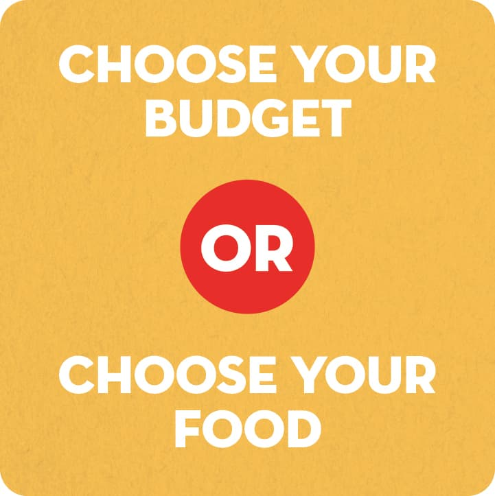Choose-Food-or-Budget